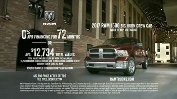 Ram Trucks TV Spot, 'Football: Long Live Ram' Song by Anderson East - Thumbnail 10