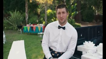 Johnsonville Sausage TV Spot, '2018 Tailgate Wedding Contest' Ft. Tim Tebow - 31 commercial airings