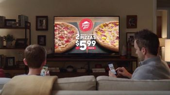 Pizza Hut 2 Medium 2-Topping Pizzas $5.99 Each TV Spot, 'Yes and Yes' - Thumbnail 2