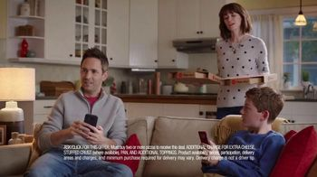 Pizza Hut 2 Medium 2-Topping Pizzas $5.99 Each TV Spot, 'Yes and Yes' - Thumbnail 4