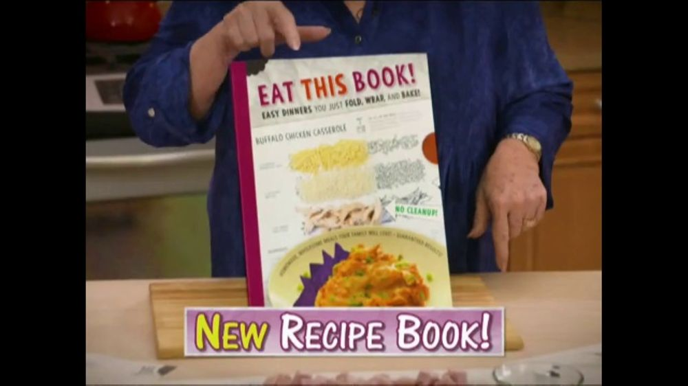 Eat This Book Tv Commercial No Pots And Pans Featuring