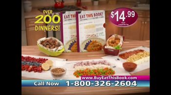 Eat This Book TV Spot, 'No Pots and Pans' Featuring Cathy Mitchell - Thumbnail 9