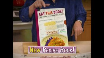 Eat This Book TV Spot, 'No Pots and Pans' Featuring Cathy Mitchell - Thumbnail 2