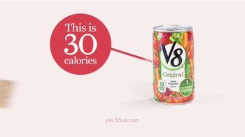 V8 Juice TV Spot, 'This Is 30 Calories'