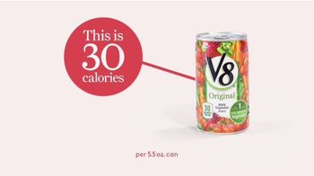 V8 Juice TV Spot, 'This Is 30 Calories' - Thumbnail 3