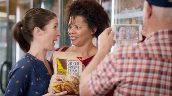 Grown In Idaho Super Crispy Crinkle Cut Fries TV Spot, 'Celebrity'