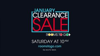 Rooms to Go January Clearance Sale TV Spot, 'Hard to Resist' - Thumbnail 9