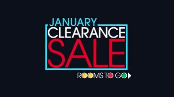 Rooms to Go January Clearance Sale TV Spot, 'Hard to Resist' - Thumbnail 2