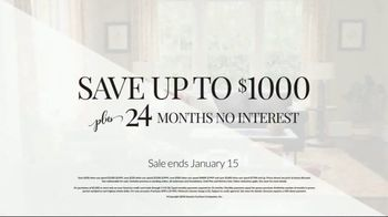 Havertys New Year's Savings Event TV Spot, 'Hurry in and Save' - Thumbnail 7