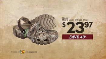 Bass Pro Shops Bring in the New Sale TV Spot, 'Shirts, Clogs & Rangefinder' - Thumbnail 6