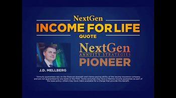 J.D. Mellberg NextGen Annuity Strategies TV Spot, 'Income for Life' - Thumbnail 1