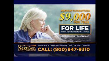 J.D. Mellberg NextGen Annuity Strategies TV Spot, 'Income for Life' - Thumbnail 3