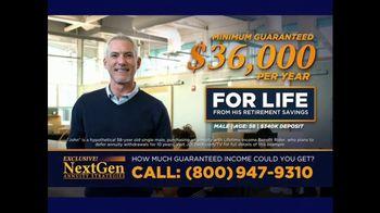 J.D. Mellberg NextGen Annuity Strategies TV Spot, 'Income for Life' - Thumbnail 4