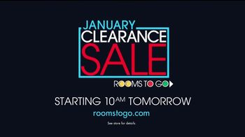 Rooms to Go January Clearance Sale TV Spot, 'Prepare to Save' - Thumbnail 9