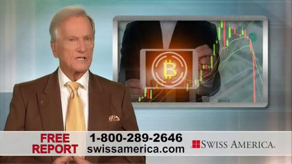 Swiss America TV Commercial, 'The New Financial Order' Featuring Pat Boone