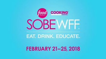 2018 South Beach Wine and Food Festival TV Spot, 'Get Your Tickets Now' - 472 commercial airings