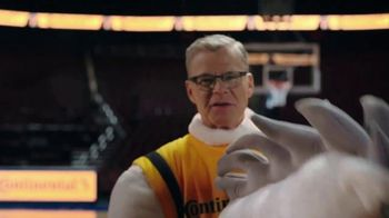 Continental Tire TV Spot, 'Dan Patrick's Big Man on Campus' - Thumbnail 6