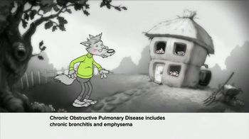 Symbicort TV Spot, 'Wolf: Huffed and Puffed'