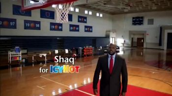 Icy Hot Medicated No Mess Applicator TV Spot, 'Relief' Ft. Shaquille O'Neal - Thumbnail 1