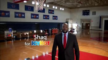 Icy Hot Medicated No Mess Applicator TV Spot, 'Relief' Ft. Shaquille O'Neal