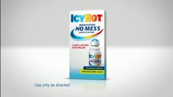 Icy Hot Medicated No Mess Applicator TV Spot, 'Relief' Ft. Shaquille O'Neal - Thumbnail 5