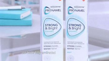Sensodyne Pronamel Strong & Bright TV Spot, 'Strong Enamel, Whiter Teeth' - Thumbnail 6