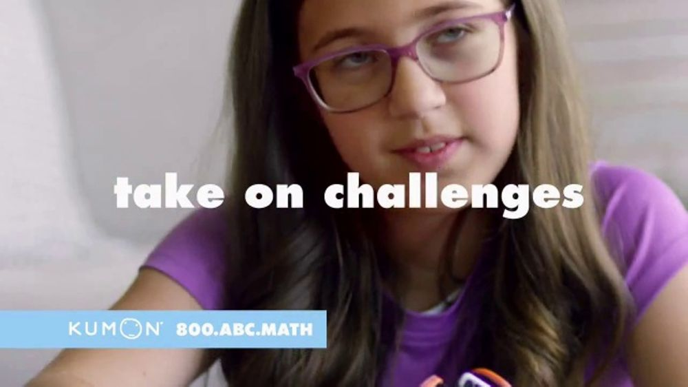 Kumon TV Commercial, 'Be Good Students: Challenges'