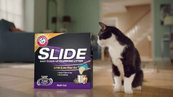 Arm and Hammer Slide TV Spot, 'Change Your Cat's Litter'