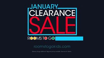 Rooms to Go January Clearance Sale TV Spot, 'Disney Princess Bedroom Set' - Thumbnail 6