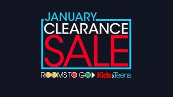 Rooms to Go January Clearance Sale TV Spot, 'Disney Princess Bedroom Set' - Thumbnail 1