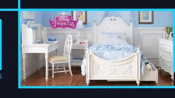 Rooms to Go January Clearance Sale TV Spot, 'Disney Princess Bedroom Set' - Thumbnail 2