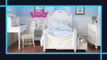 Rooms to Go January Clearance Sale TV Spot, 'Disney Princess Bedroom Set' - Thumbnail 3