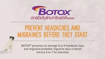 BOTOX Chronic Migraine TV Spot, 'Refuse to Lie Down'