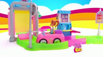 Barbie On the Go Car Wash Playset TV Spot, 'Wash and Go' - Thumbnail 4