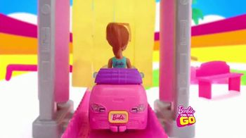 Barbie On the Go Car Wash Playset TV Spot, 'Wash and Go' - Thumbnail 5