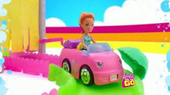 Barbie On the Go Car Wash Playset TV Spot, 'Wash and Go'