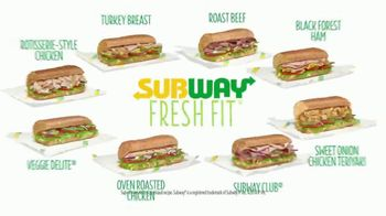 Subway Fresh Fit TV Spot, 'Options' - Thumbnail 9