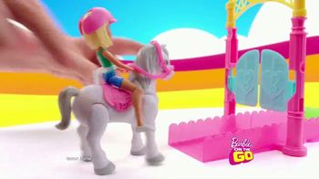 Barbie On the Go Carnival Playset TV Spot, 'Just Down the Road' - Thumbnail 3