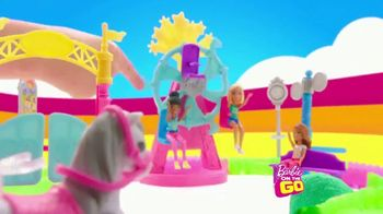 Barbie On the Go Carnival Playset TV Spot, 'Just Down the Road' - Thumbnail 6
