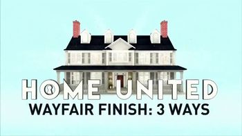 Wayfair TV Spot, 'Home United' - Thumbnail 2