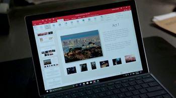 Microsoft Surface TV Spot, 'Lethal Weapon: Pitch' Feat. Johnathan Fernandez - Thumbnail 7