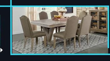 Rooms to Go January Clearance Sale TV Spot, 'Great Dining Style' - Thumbnail 2