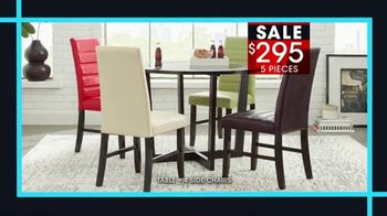 Rooms to Go January Clearance Sale TV Spot, 'Great Dining Style' - Thumbnail 4