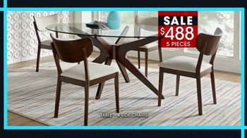 Rooms to Go January Clearance Sale TV Spot, 'Great Dining Style' - Thumbnail 5