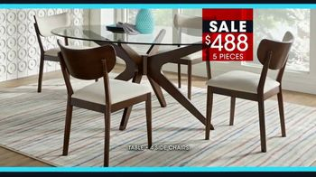 Rooms to Go January Clearance Sale TV Spot, 'Great Dining Style' - Thumbnail 6