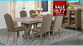 Rooms to Go January Clearance Sale TV Spot, 'Great Dining Style' - Thumbnail 7