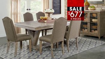 Rooms to Go January Clearance Sale TV Spot, 'Great Dining Style' - Thumbnail 8