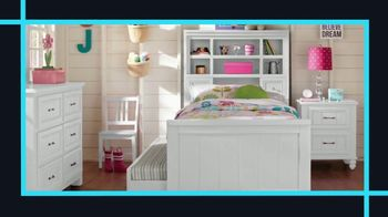 Rooms to Go Kids January Clearance Sale TV Spot, 'Twin Bookcase Bed' - Thumbnail 3