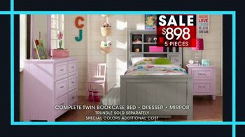 Rooms to Go Kids January Clearance Sale TV Spot, 'Twin Bookcase Bed' - Thumbnail 4