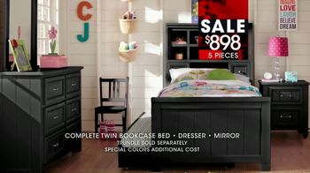 Rooms to Go Kids January Clearance Sale TV Spot, 'Twin Bookcase Bed' - Thumbnail 8